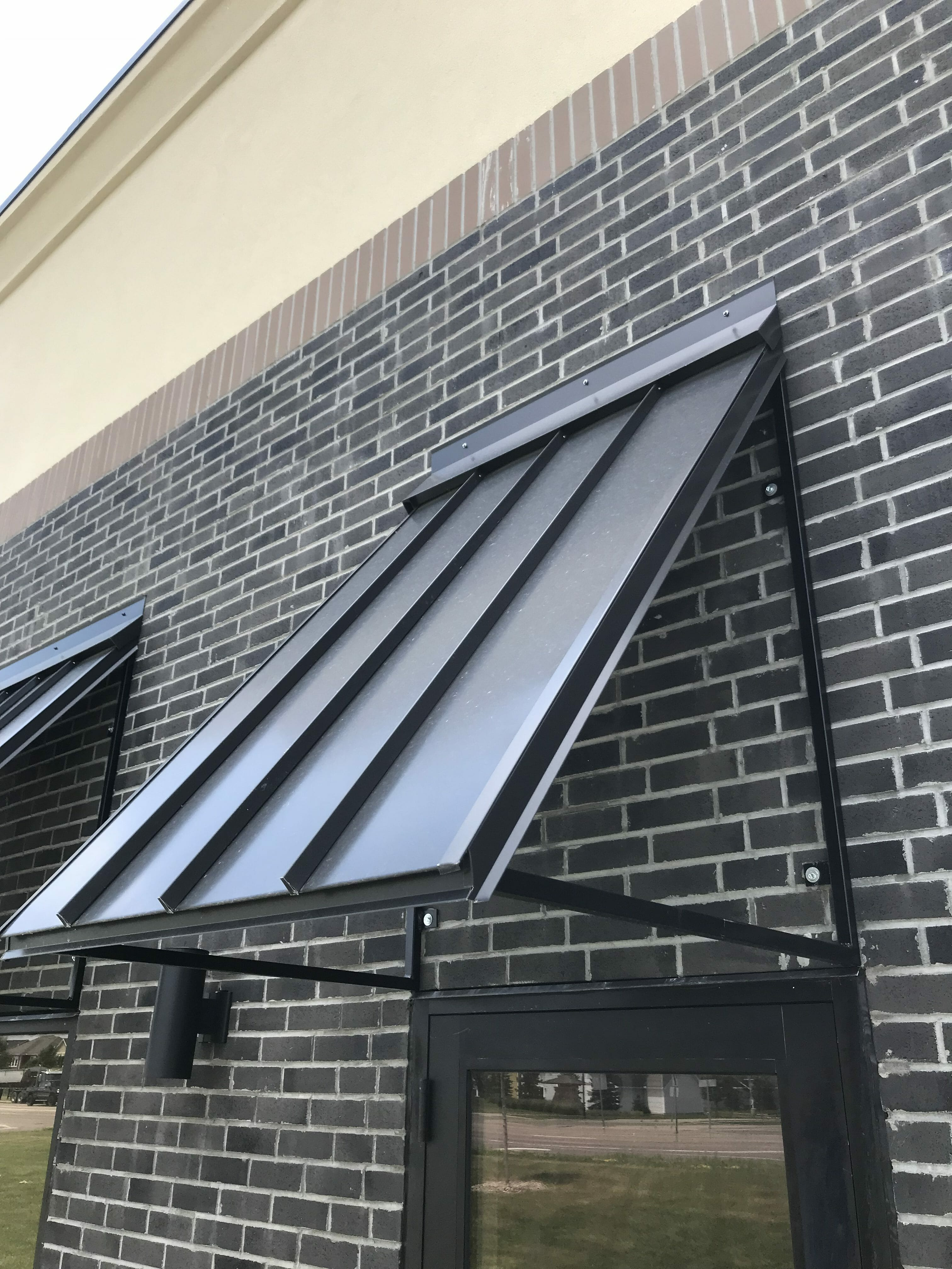 Sheet Metal Awnings - Lakeville