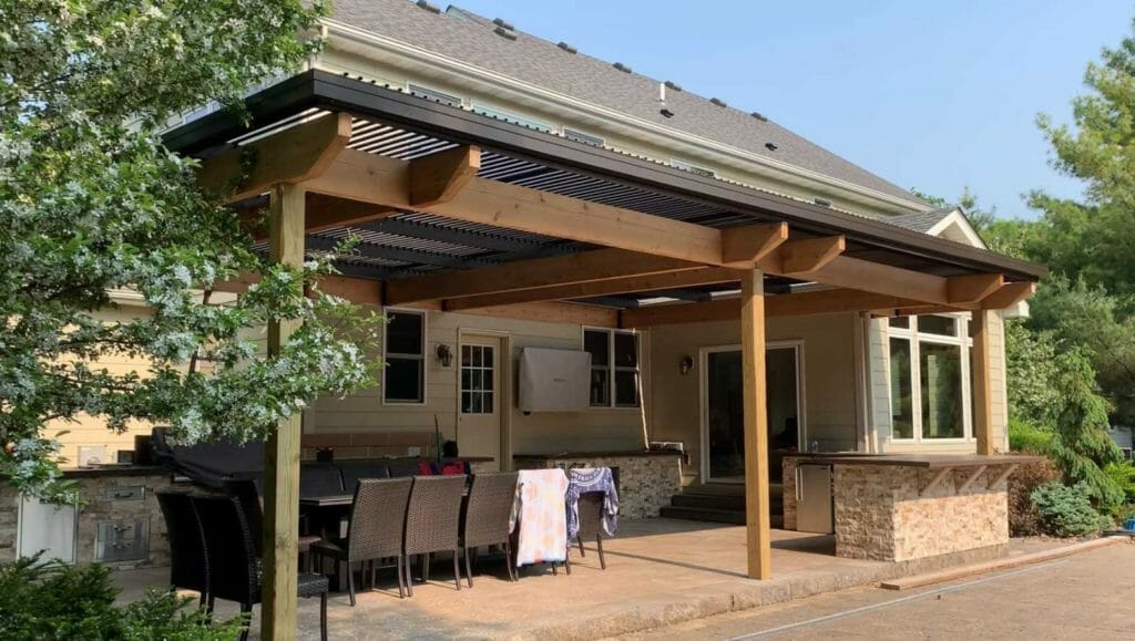 Motorized Louvered Roof Acme Awning