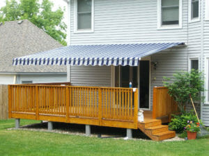 Custom deck awnings from Acme Awning in Minneapolis