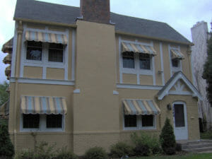 Custom window awnings meet homeowner's needs