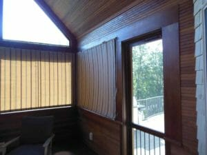 Interior Porch Shades