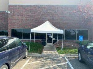 Canopy Before in Burnsville
