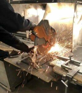 Cutting Steel Acme Awning